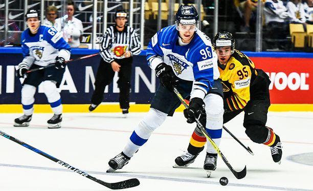 Mikko Rantasella riitti yritystä, mutta viimeistely ei eilen onnistunut.