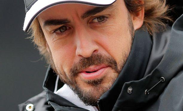 Fernando Alonson lähtökohdat Britannian GP:hen eivät ole parhaat mahdolliset.
