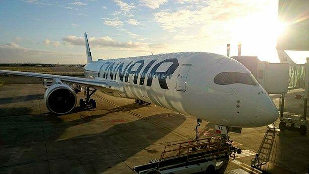 Finnair lentää Kiinaan tavalliseen tapaan koronaviruksesta huolimatta. Kuvituskuva.