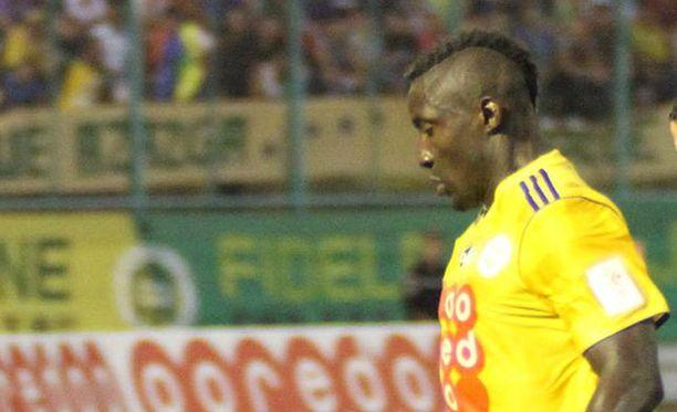 Albert Ebosse oli joukkueensa JS Kabylien paras maalintekijä.