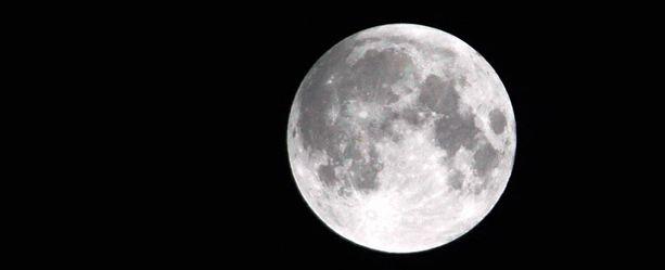 Täydellinen kuunpimennys nähtiin viimeksi joulukuussa.