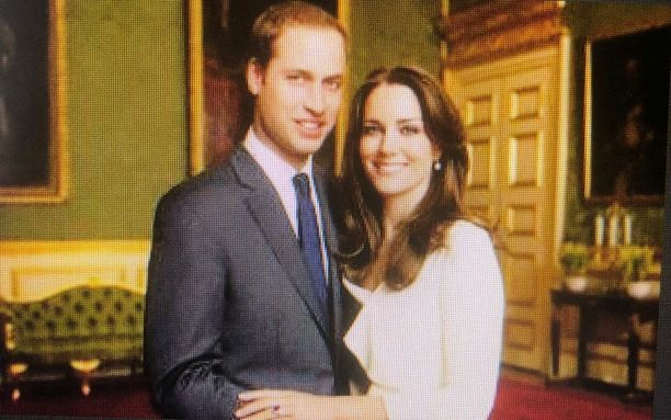Prinssi William ja Cambridgen herttuatar Catherine.