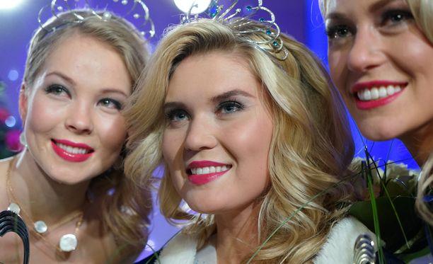 Bea Toivonen kruunattiin Suomen kauneimmaksi vuonna 2014.