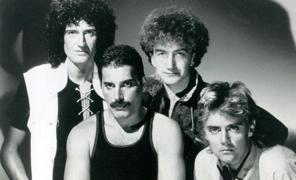 Vuonna 1971 perustettu Queen on yksi kaikkien aikojen suosituimmista rockyhtyeistä.