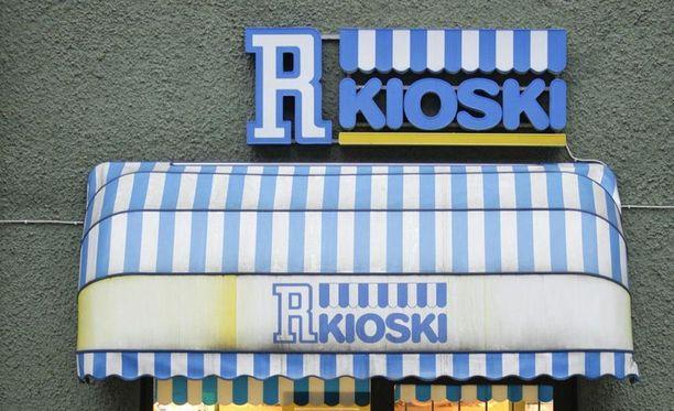 R-kioski yritettiin ryöstää Heinolassa. Kuvituskuva.