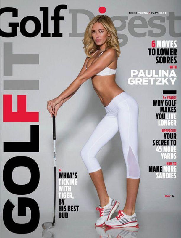 Viime vuonna Golf Digest -lehti kohautti Paulina Greztky -kannellaan.