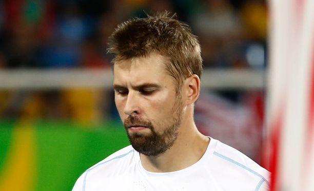 Antti Ruuskasen olkapäävamma ei salli heittämistä Lontoon MM-kisoissa.