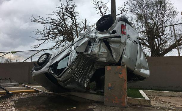 Hirmumyrsky Maria aiheutti Puerto Ricolla valtavat tuhot.