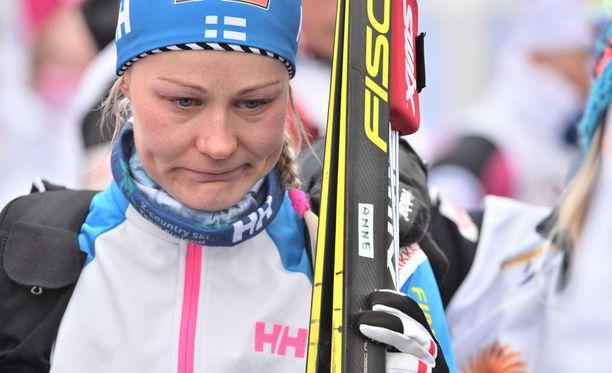 Anne Kyllöstä ei nähdä olympiakisoissa.