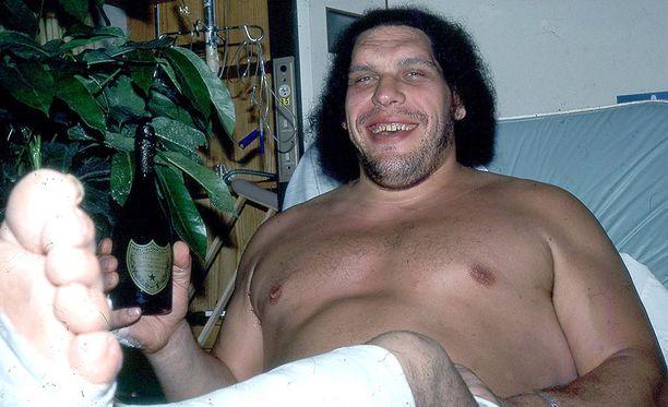 André the Giant oli maailmankuulu megatähti 1970- ja 1980-luvulla.