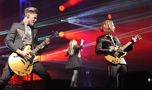 Kuva Haloo Helsingin Tallinnan-konsertista.