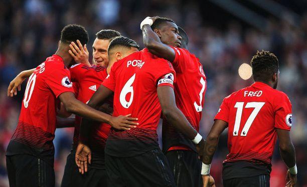 Valioliigan kauden 2018-19 ensimmäisestä maalista vastasi Man Unitedin Paul Pogba.