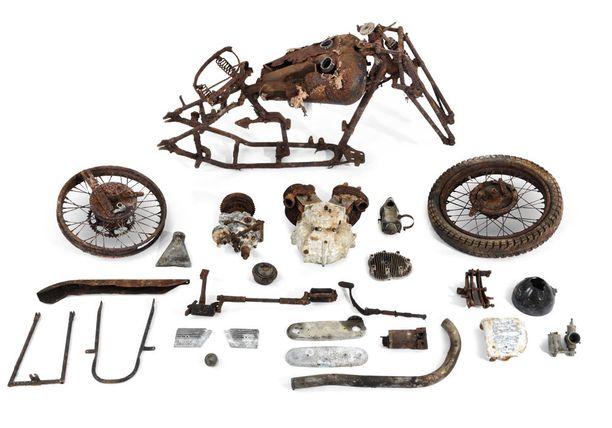 1936 Brough Superior 982cc SS80 Project, 8 300 - 11 000 euroa