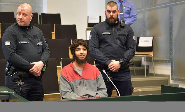 Turun puukotusten pääkäsittely alkoi Turun vankilassa.