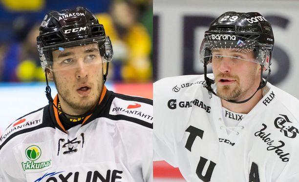 Miro Karjalainen ja Jonne Virtanen tappelivat.