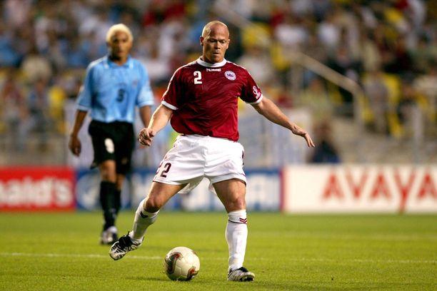 Stig Töfting pelasi pitkään Tanskan maajoukkueessa.