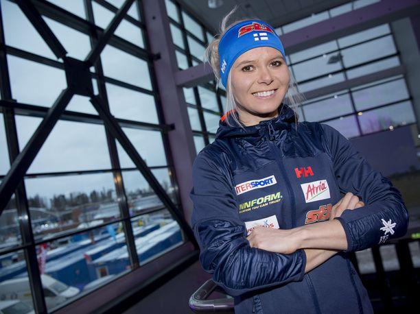 Mari Eder sijoittui lauantaina Toblachin sprintissä 31:nneksi.
