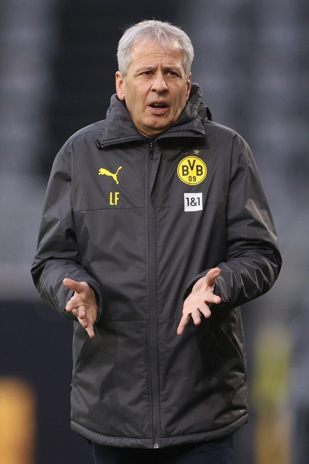 Lucien Favre toimi Dortmundin peräsimessä kaksi ja puoli vuotta.