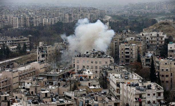 Taistelut Aleppossa jatkuvat.