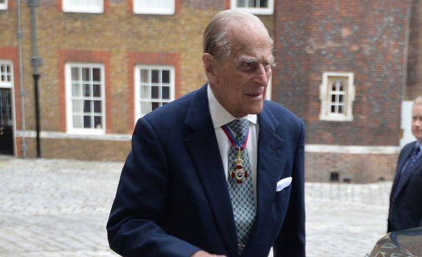 Prinssi Philip edusti aivan kuin ennenkin.