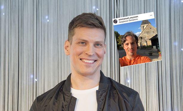 Antti Holman puoliso Emmanuel Ceysson on kansainvälisesti arvostettu tähti.