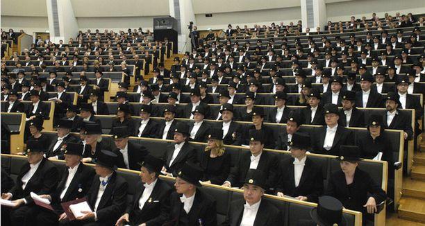 Teknillisen korkeakoulun tohtoripromootio on järjestyksessä 20.