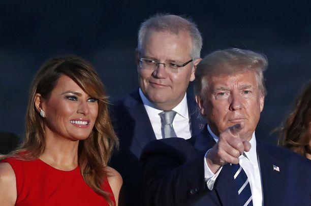 Ensi vuonna G7-huippukokous pidetään kesäkuussa Trumpin Doral Golfissa Floridassa. Kuvassa presidenttipari G7-kokouksessa Ranskan Biarritzissa viime elokuussa.