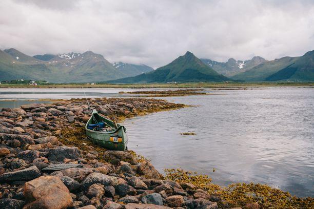 Gisløyan luonto on karua, mutta kaunista.