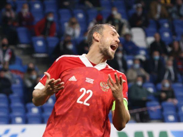 Artjom Dzjuba pudotettiin Venäjän maajoukkueesta.