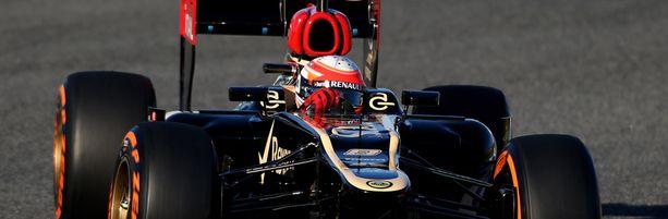 Romain Grosjean on hyvässä vauhdissa.