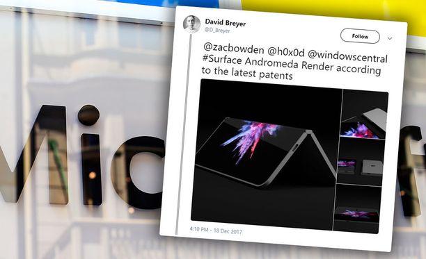 Patenttien perusteella on jo tehty suuntaa antava kuva tulevasta laitteesta.