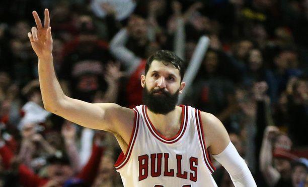 Nikola Mirotic on ollut pistekeskiarvolla mitattuna tämän kauden tehokkain Bulls-pelaaja.