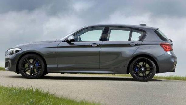 Takavetoisuus vaihtuu etuvetoon BMW:n 1- ja 2-sarjassa.