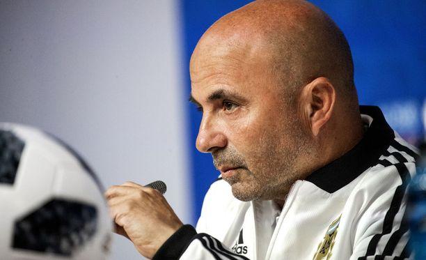 Jorge Sampaolin johtama Argentiina on ollut MM-kisoissa myrskyn silmässä.