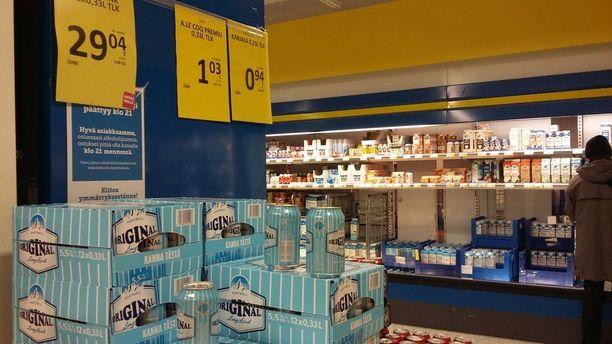 Kaupoissa suurimman suosion uuden alkoholilain jälkeen on saanut vahva lonkero.