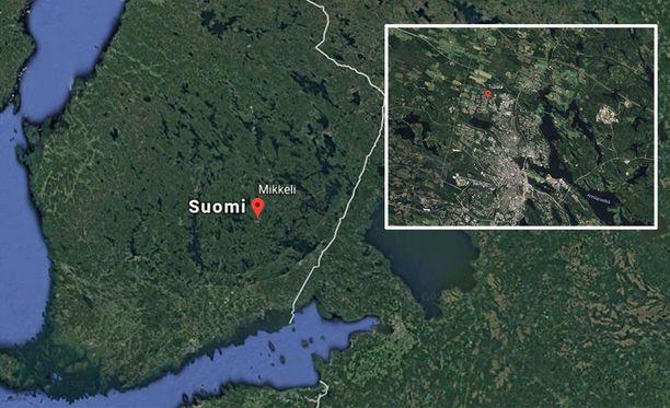 Mikkelin Tupala sijaitsee vajaan viiden kilometrin päässä Mikkelin keskustasta.