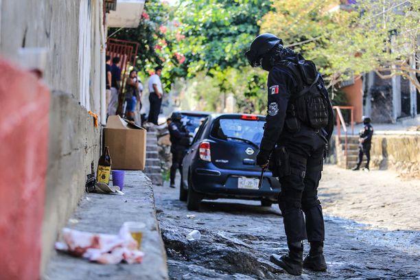 Meksikoa ovat piinanneet väkivalta, korruptio ja huumekartellit, joista halutaan eroon. Kuva huhtikuulta 2018 Acapulcosta.