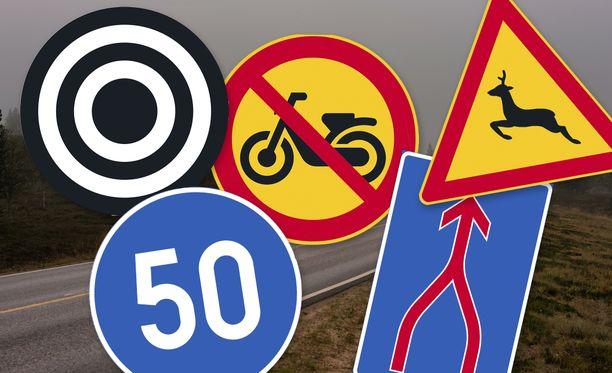 Uudistus tuo tullessaan muun muassa tämän näköisiä liikennemerkkejä.