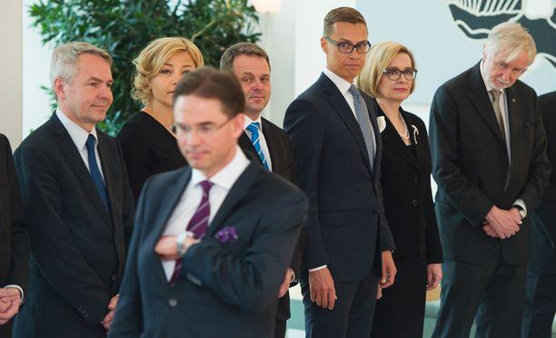 Jyrki Katainen (kok) jätti kesäkuussa pääministerin tehtävät puoluetoverilleen Alexander Stubbille.