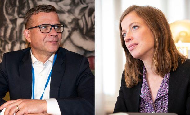 Petteri Orpo ja Li Andersson ottivat yhteen A-studiossa.