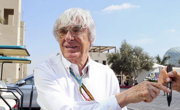 """""""Bernie"""" Ecclestone haluaa laajentaa F1-kartan Afrikkaan."""