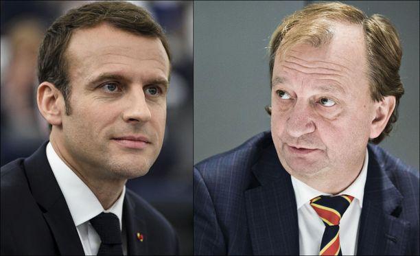 Ranskan presidentin Emmanuel Macronin ja Hjallis Harkimon poliittisissa liikkeissä on yhteisiä piirteitä.