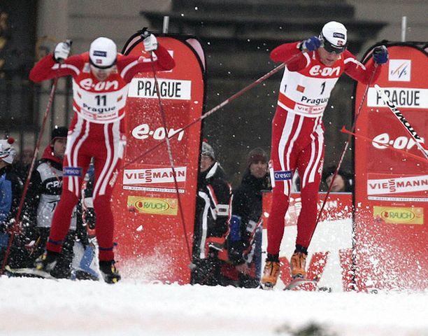 Norjalaisten suksi luisti hyvin vain Tour de Skin sprinteissä.