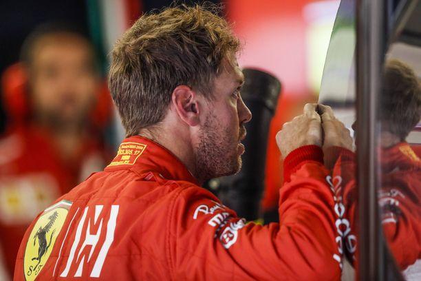 Sebastian Vettel ei hyväksy lähtöruuturangaistustaan.