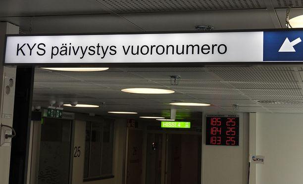 Vanhusten kuivuminen on ollut yleinen vaiva päivystyksessä myös Kuopiossa.