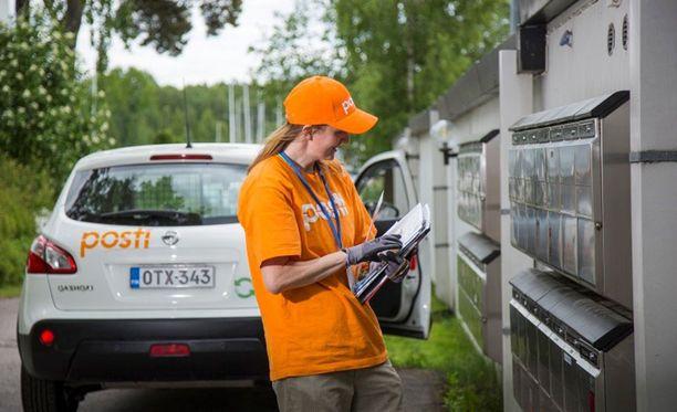 Postinjakelun kesätyöpaikkoja on eniten Uudellamaalla.