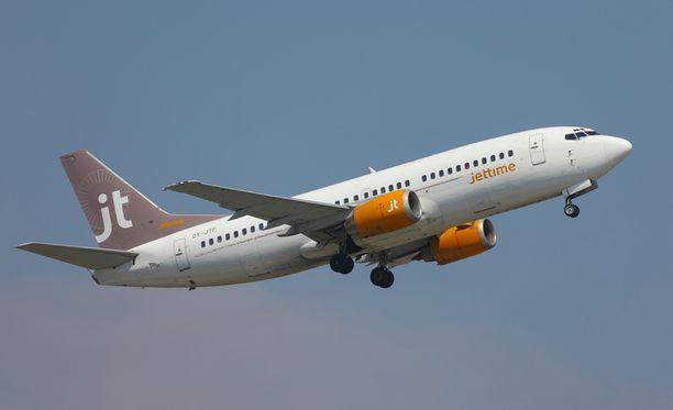 Lomakauden viimeinen lento Kreikan Korfusta keskeytyi puoli tuntia nousuun lähdön jälkeen. Kuva arkistokuva.