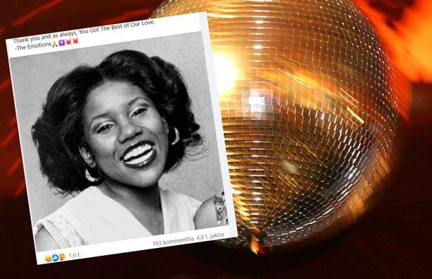 Pamela Hutchinson lauloi The Emotions -yhtyeessä. Hän kuoli 61-vuotiaana.