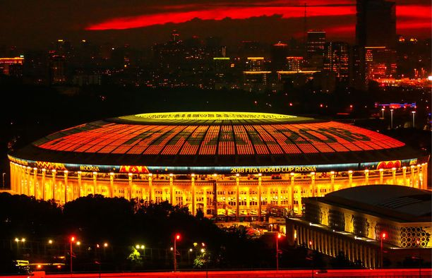 MM-finaali pelataan Moskovassa.