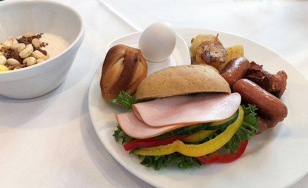 Erikoisruokavalioiden lisääntyminen otetaan huomioon myös Tallinnan-laivalla.